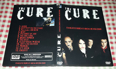 The Cure - Charlotte Bobcats Arena NC USA 2008 DVD SPECIAL FAN EDITION