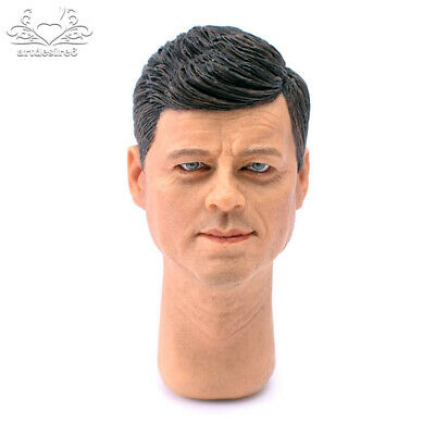 "1/6 Scale Head Carve Scuplt Set Sculpture Model Male Handsome for 12""Body Figure"