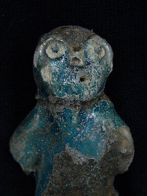 Ancient Glazed Ceramic Cat Islamic 1000 AD #S4092