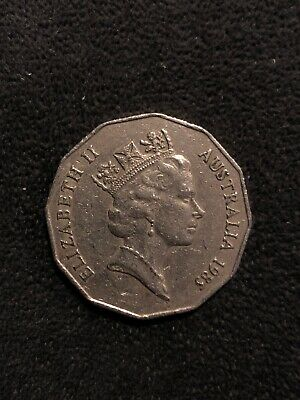 1985 50 cent coin very low mintage scarce