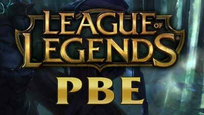 League of legends Pbe Accounts Pbe Server Unverifed Best Offer