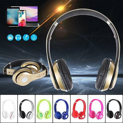 Wireless Headphones Bluetooth Headset Noise Cancelling Over Ear With Microphone