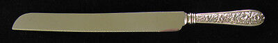 Stieff Corsage Sterling Wedding Cake/Bread Knife