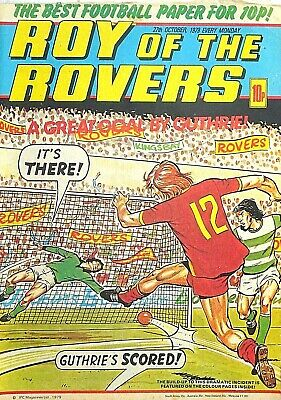 ROY OF THE ROVERS - 27th OCTOBER 1979 (22- 28 Oct) RARE 40th BIRTHDAY GIFT beano