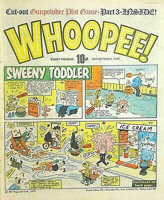 WHOOPEE - 20th OCTOBER 1979 (15 - 21 Oct) RARE 40th BIRTHDAY GIFT !! VG+..cheeky