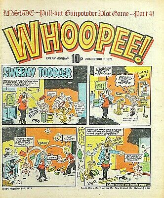 WHOOPEE - 27th OCTOBER 1979 (22 - 28 Oct) RARE 40th BIRTHDAY GIFT !! VG+..cheeky