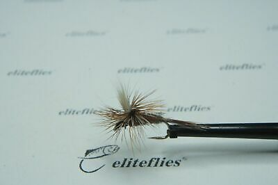 Eliteflies 12 x Competition Klinkhammer dry fly grab gape Barbless fly fishing