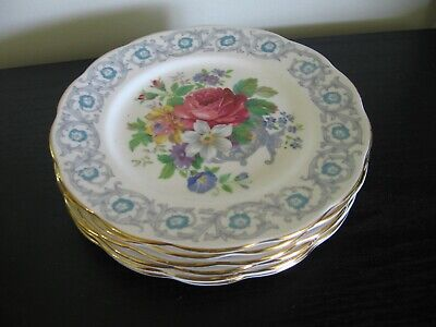 Royal Albert Fragrance Bread And Butter Plate - Set Of 6