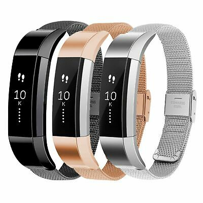 For Fitbit Alta HR Milanese Magnetic Loop Strap Stainless Steel Wrist Band US
