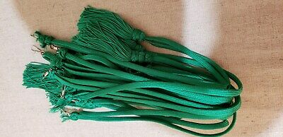 Liturgical Parament Embellishment Tassled Cord 9 Pcs Green