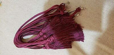 Liturgical Parament Embellishment Tassled Cord 9 Pcs Purple