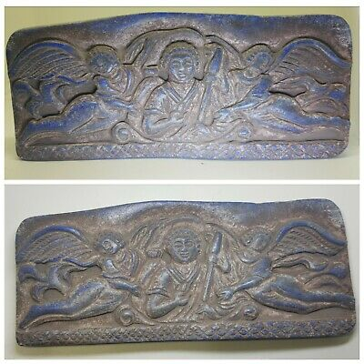 Very old roman  byzantine empire rare lapiz relief tile