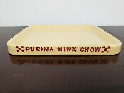 VINTAGE PURINA ADVERTISING PENCIL BOX CALF CHOW - $25 00
