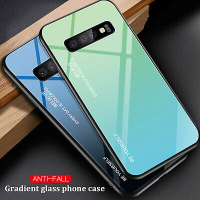 For Samsung A50 Case A30 A70 A60 M10 M30 Shockproof Hybrid Glass Slim Back Cover