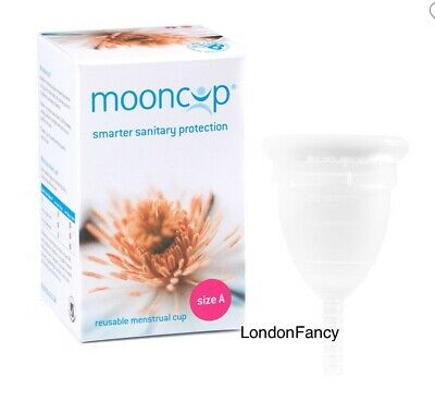Mooncup Size A. Reusable Menstrual Cup. Smarter Sanitary Protection