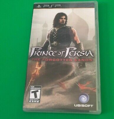 Prince of Persia: The Forgotten Sands (Sony PSP, 2010) Excellent Shape CIB!!!!