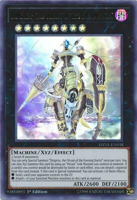 Yugioh Dingirsu, The Orcust of The Evening Star DANE-EN038 1st/Unl Edition NM