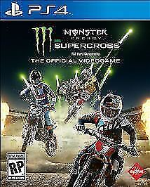Monster Energy Supercross PS4 - The Official Videogame PlayStation 4 Dirtbike