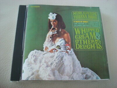 HERB ALPERT's Tijuana Brass CD Whipped Cream & Other Delights (1988 A&M)