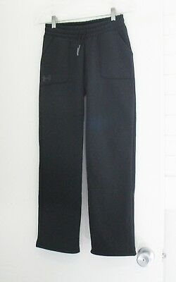 Under Armour Cold Gear Girls Storm Fleece Training Pants Black Sz YMD - NWT
