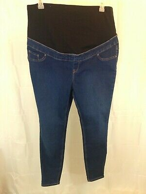 "New Look Maternity Emilee Over H Bump Jegging Women's 12 Regular 32"" Inseam  New"
