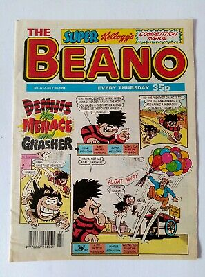 *Vintage* The BEANO comic JULY 2nd, 9th, 16th, 23rd, 30th. 1994. *Birthday gift*