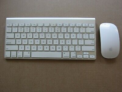 61a2a8d37f6 GENUINE APPLE WIRELESS keyboard A1314 and Magic Mouse A1296 - $56.00 ...