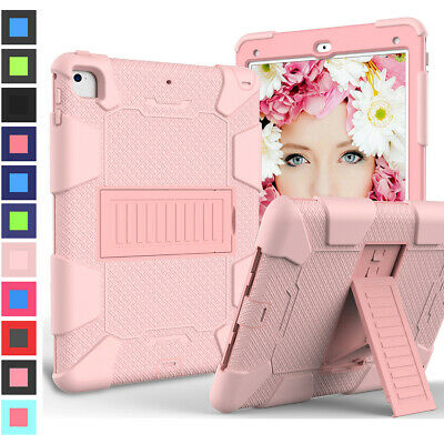 Dual Shockproof Kickstand Drop Case Cover For Apple iPad 9.7 6th 5th Generation