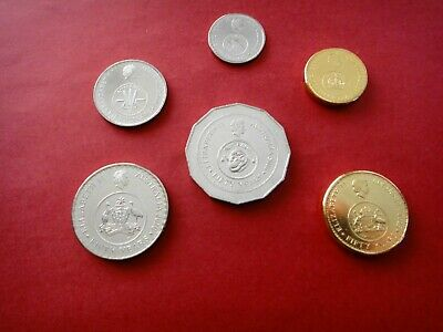 2016 Changeover Set 6 (six) Coins  50th Anniversary of Decimal Currency  UNC #3