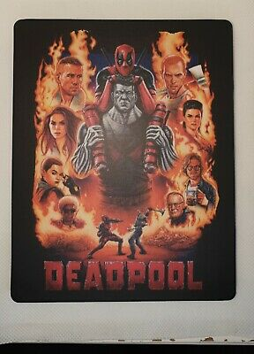 Custom Steelbook Deadpool  Bluray Empty
