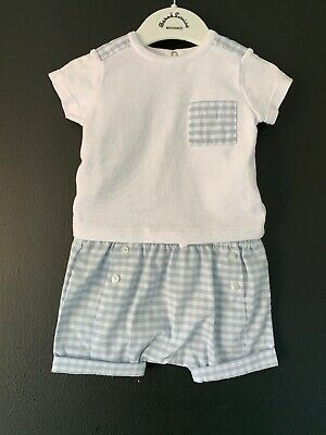Ansorba Baby Boy Spanish Summer Outfit Age 3 Months Fit 0-3 Months