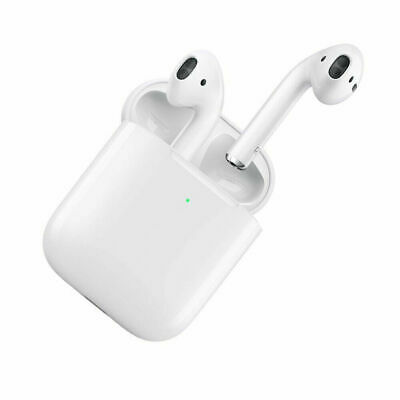 AirPods 2nd Generation with Wireless Charging Case Bluetooth Earphones Earhubs