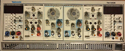 Tektronix TM 5006 w/ (2) Power Supplies , (2) Function Generators and (2) DMMs
