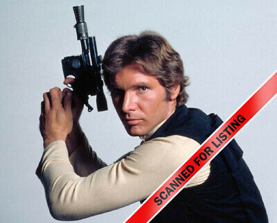 Star Wars Han Solo With Blaster Pose 8X10 Photo #8075