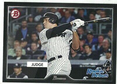 2019 Topps On Demand 55 Bowman Style Rookie Debuts #R2 Aaron Judge NY Yankees