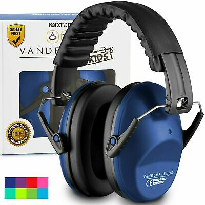 Ear Defenders Toddlers Children Babies Hearing Protection Earmuffs Marine Blue