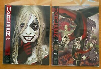 HARLEEN 1 Sejic Main Cover + Variant (2 Book Lot) Batman Damned DC 2019 NM+ 9/25