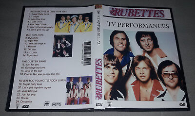 The Rubettes - TV Performances + The Glitter Band + Mud DVD FAN EDITION
