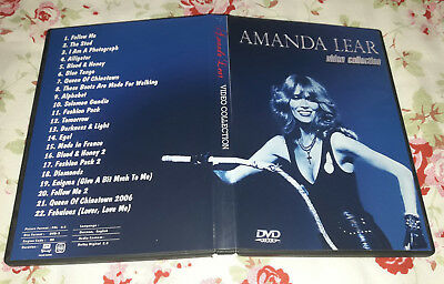 Amanda Lear - Video Collection 1975-2006 DVD SPECIAL FAN EDITION