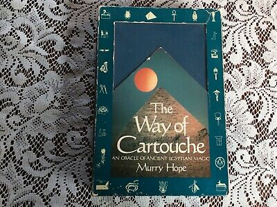 The Way of Cartouche An Oracle Of Ancient Egyptian Magic RARE Boxed Set Vintage