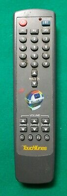 Touchtunes Jukebox Model RC-JB-3 Remote Used As Is FREE SHIPPING