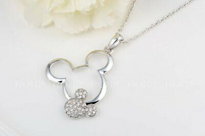 Mickey Girl Women Lady Kids Metal Alloy Coated Necklace Torque N015 a F01