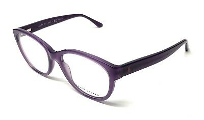 42de9f612110 New Ralph Lauren Rl 6104 5337 Purple Women's Authentic Eyeglasses Frame  52-17
