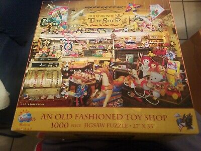 An Old Fashioned Toy Shop Puzzle 1000 piece sunsout