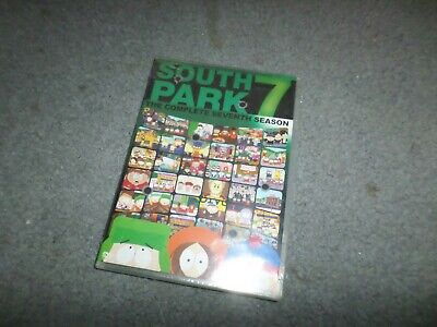 South Park The Complete Seventh Season 7 Dvd New & Sealed