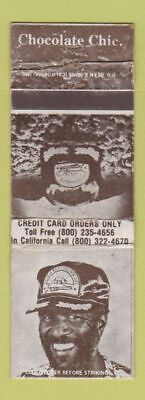 Matchbook Cover - Famous Amos Cookies Black Americana Hat Offer WEAR