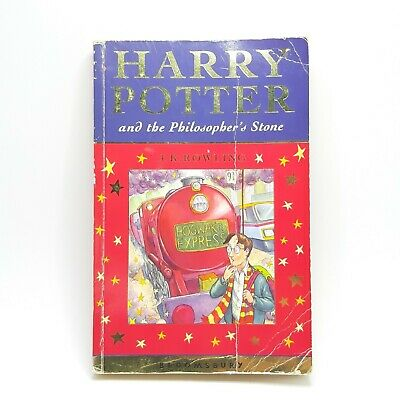Harry Potter and the Philosopher's Stone 1st Edition 5th print Paperback