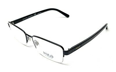 debed8d9077a New Polo Ralph Lauren Ph 1159 9119 Black Men's Authentic Eyeglasses Frame  56-17