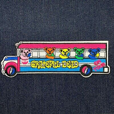 GRATEFUL DEAD TOUR Bus w/ Bears STICKER - Decal Music Band Album Art