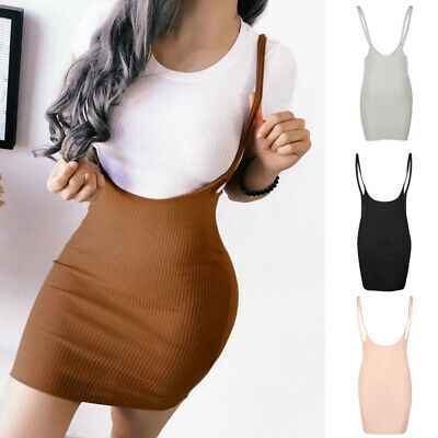 Womens Dress Summer Mini Sexy Sleeveless Backless Clubwear Evening Sling Party